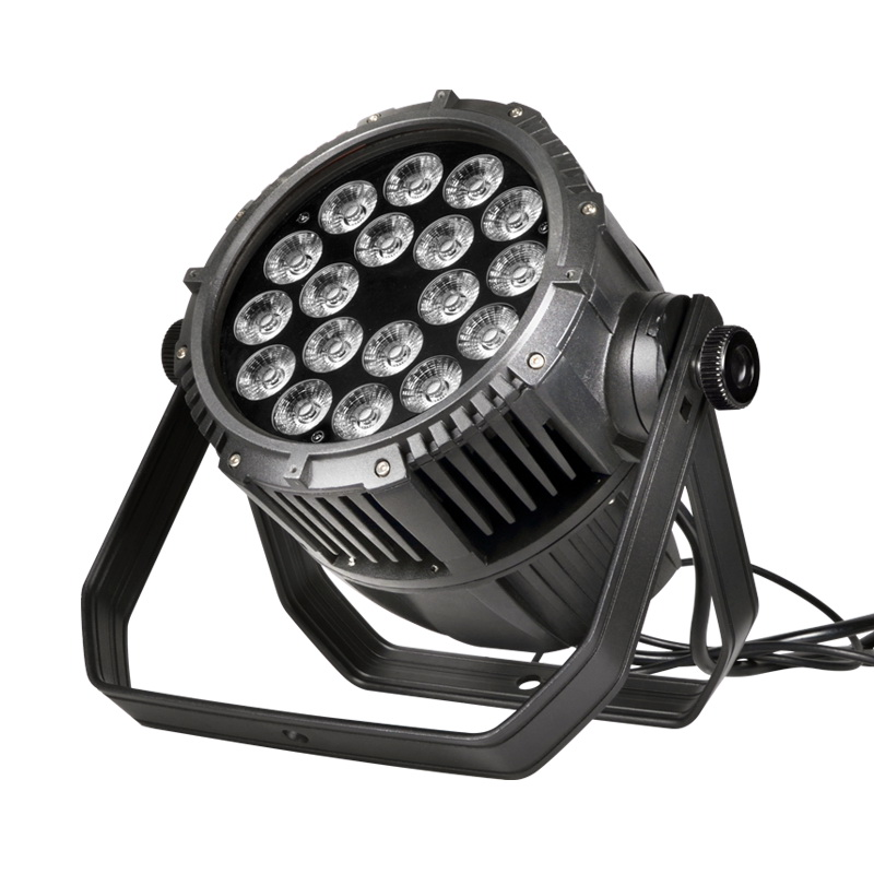 18x18W rgbawv 6-in-1 led par light
