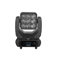 9x10W RGBW 4 in 1 LED Moving Head Light