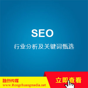 SEO-Industry analysis and keyword selection (from 2000 yuan/set)