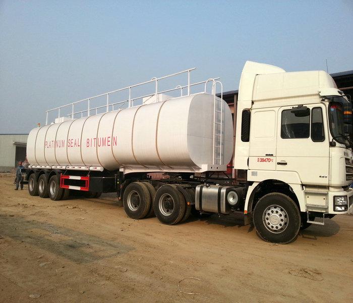 50,000 liters 3 axle bitumen insulation tank photo2