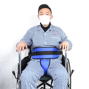 The wheelchair T-shape safety belt fixed ties a belt approximately